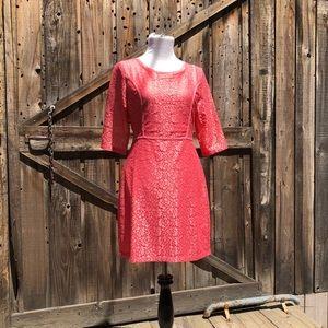 NWT Cooper St Orange Lace Dress